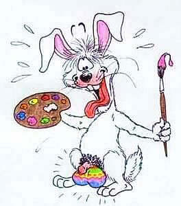 Bunte Eier!